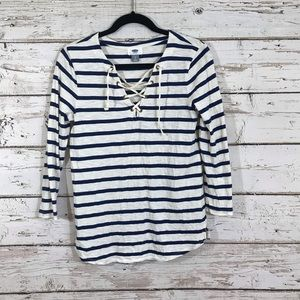 CLEAR OUT.  old navy striped top
